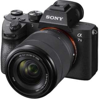 α7III【レンズキット】ILCE-7M3K/ミラーレス一眼カメラ