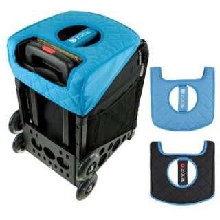 Seat Cushion (Reversible) Black Blue
