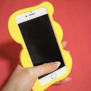 Re:LIKE!(リライク)シリコン製iPhoneケース 3DコラージュYELLOW iPhone8/7/6S/6 OTOME JOURNAL