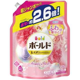 Bold(ボールド)アロマティックフローラル サボンの香り つめかえ用 超ジャンボサイズ (1580g)〔衣類洗剤〕
