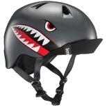 子供用ヘルメット NINO ALL SEASON (Satin Grey Flying Tiger/ S-Mサイズ:51.5~54.5cm) BE-VJBSGFV-12