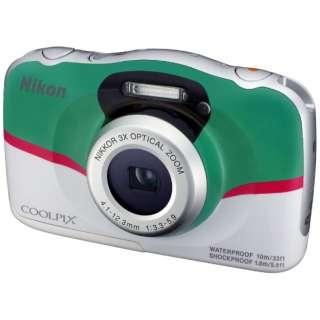 防水コンパクトデジタルカメラ COOLPIX(クールピクス) W100(新幹線E5系 はやぶさモデル)