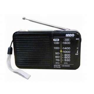 ホームラジオ R17-418 [AM/FM /ワイドFM対応]