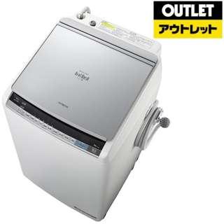 【アウトレット品】 BW-DV90A-S 縦型洗濯乾燥機 ビートウォッシュ シルバー [洗濯9.0kg /乾燥5.0kg /ヒーター乾燥(水冷・除湿タイプ) /上開き] 【生産完了品】