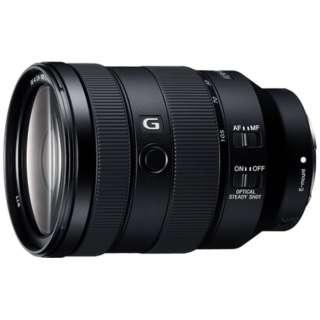 【店舗のみ販売】≪海外仕様≫ カメラレンズFE 24-105mm F4 G OSS  SYX ブラック SEL24105G [ソニーE /ズームレンズ]