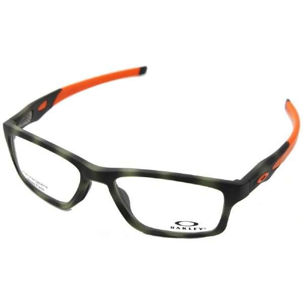 【度付き】OAKLEY メガネセット CROSSLINK MNP(マットグリーントータス)OX8090-0755[薄型/屈折率1.60/非球面/PCレンズ]