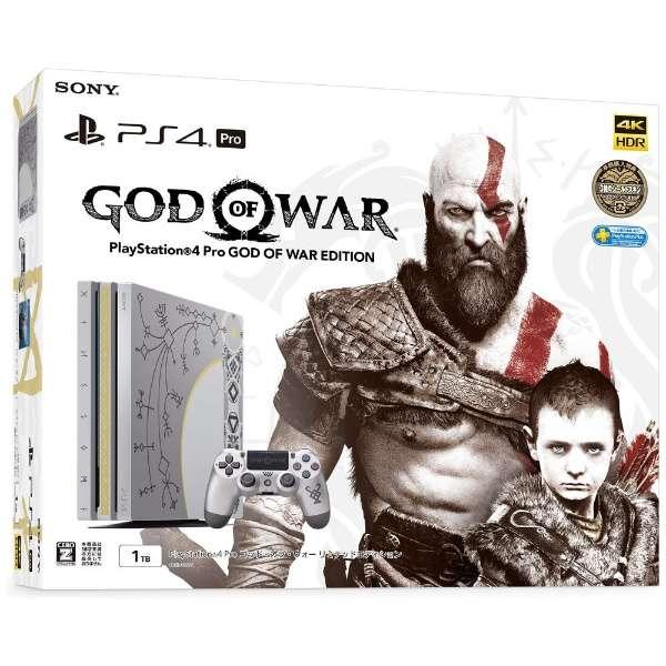 PlayStation 4 Pro (プレイステーション4 プロ) ゴッド・オブ・ウォー リミテッドエディション [ゲーム機本体] CUHJ-10021