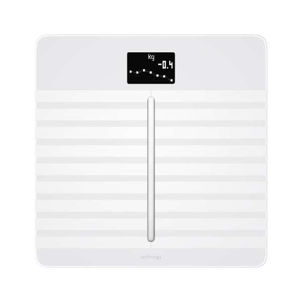 WBS04-WHITE-ALL-ASIA 体組成計 Body Cardio ホワイト [スマホ管理機能あり]