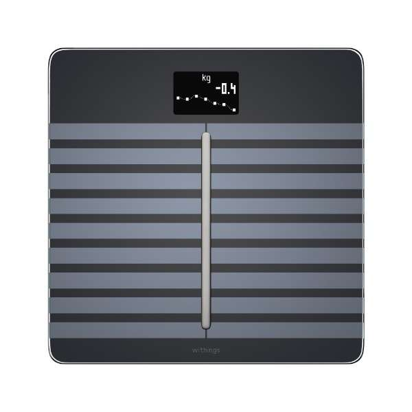 WBS04-BLACK-ALL-ASIA 体組成計 Body Cardio ブラック [スマホ管理機能あり]