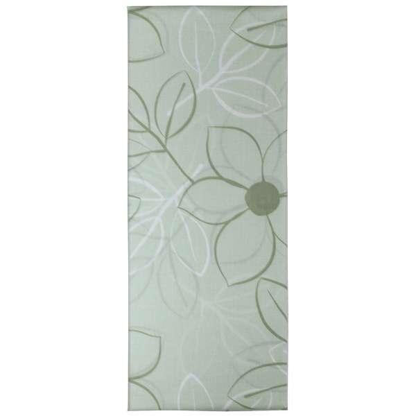 【まくらカバー】綿ローン リーフ 小さめサイズ(綿100%/40×80cm/グリーン)【日本製】