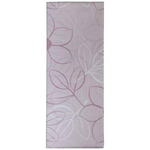 【まくらカバー】綿ローン リーフ 標準サイズ(綿100%/45×90cm/ピンク)【日本製】