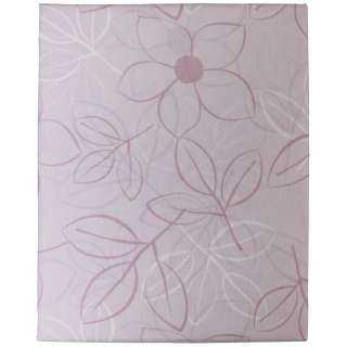 【ボックスシーツ】綿ローン リーフ クィーンサイズ(綿100%/170×200×30cm/ピンク)【日本製】