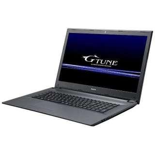 NGN17HKM8S2H2X5TW ゲーミングノートパソコン G-TUNE ブラック [17.3型 /intel Core i7 /HDD:2TB /SSD:256GB /メモリ:8GB /2018年3月モデル]