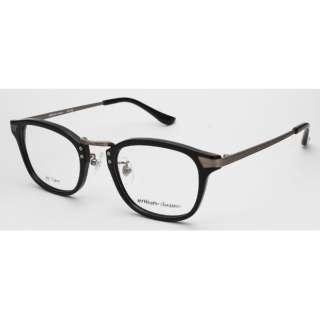 【度付き】airNium-classic メガネセット(ブラック)ac812-1[薄型/屈折率1.60/非球面/PCレンズ]