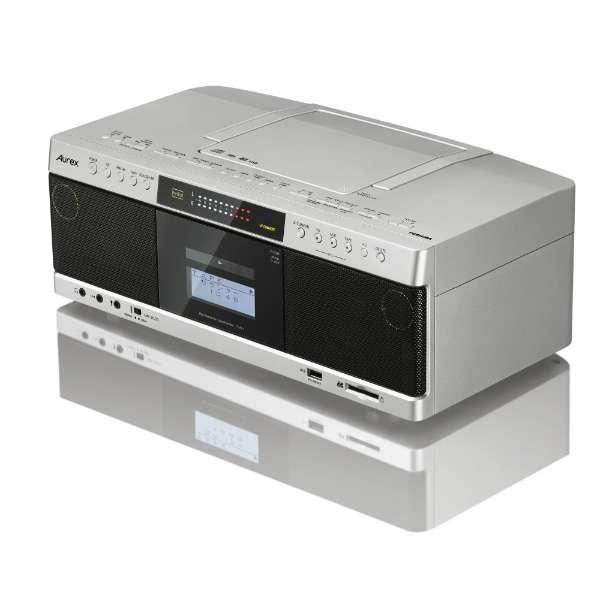 TY-AK1 ラジカセ サテンゴールド [ワイドFM対応 /ハイレゾ対応 /CDラジカセ]