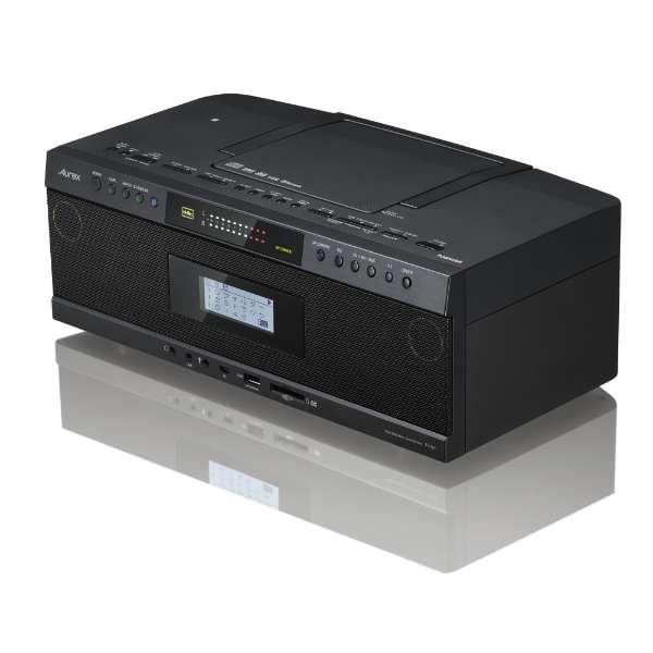 TY-AH1 CDラジオ ブラック [Bluetooth対応 /ワイドFM対応 /ハイレゾ対応]