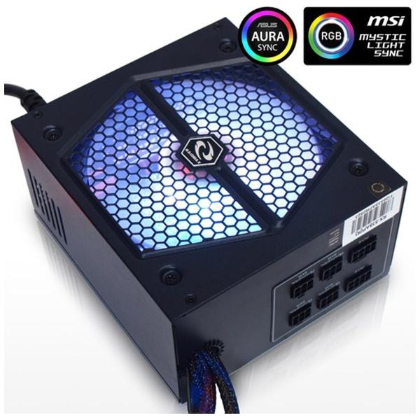 RAIDMAX THUNDER RGB 535W RX-535AP-R ケース用電源