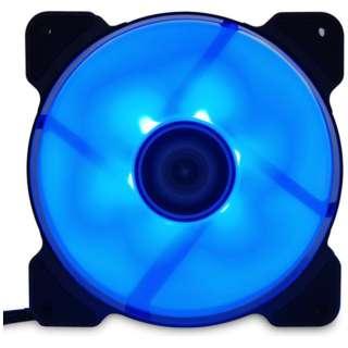 ケースファン[120mm / 1500RPM] AYA-KAZE 彩風 AYA-KAZE12-BL ブルー