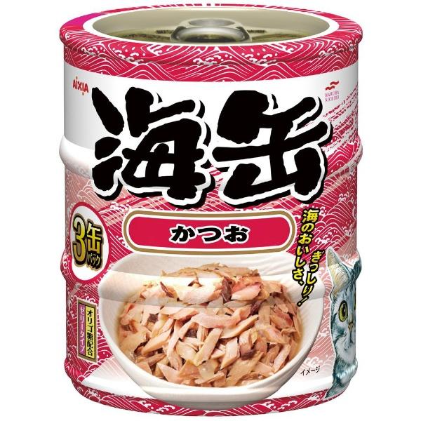 海缶 ミニ 3P かつお 60gx3缶 製品画像