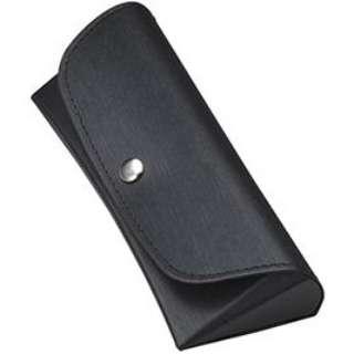 セミハード メガネケース(ブラック)2082-01