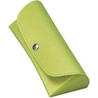 セミハード メガネケース(グリーン)2082-04