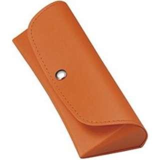 セミハード メガネケース(オレンジ)2082-06
