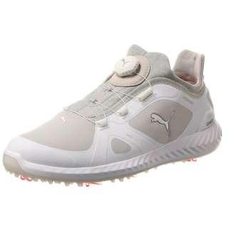 2bbb54e6a98170 Men s Golf Shoes IGNITE PWRADAPT DISC(29.0cm Puma White X Gray Violet)  190582