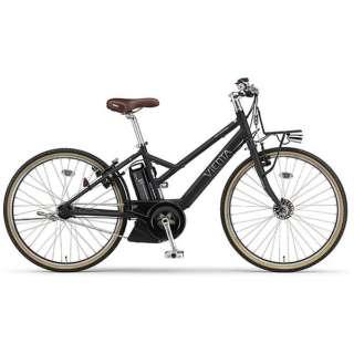 【eバイク】 26型 電動アシスト自転車 PAS VIENTA5(マットブラック/内装5段変速) PA26V【2018年モデル】 【組立商品につき返品不可】