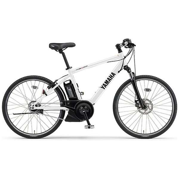 【eバイク】 26型 電動アシスト自転車 PAS Brace(クリスタルホワイト/内装8段変速) PA26B【2018年モデル】 【組立商品につき返品不可】