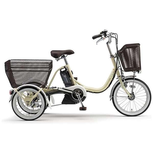 【電動アシスト付き】18/16型 電動アシスト自転車 PAS ワゴン(アイボリー/内装3段変速) PT16【2018年モデル】 【組立商品につき返品不可】
