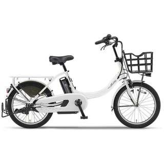 【単品購入時メーカー直送】 20型 電動アシスト自転車 PAS Babby u(ピュアホワイト/内装3段変速) PA20BXL【2018年モデル】 【組立商品につき返品不可】