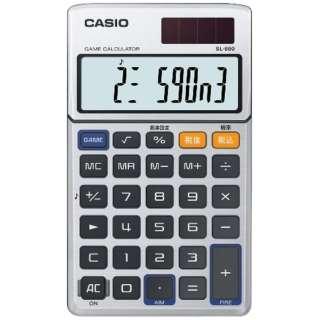 手帳電卓(10桁)「ゲーム電卓」 SL-880-N