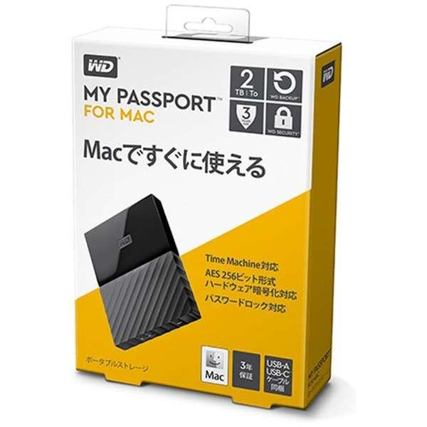 WDBLPG0020BBK-JESE 外付けHDD ブラック [ポータブル型 /2TB]
