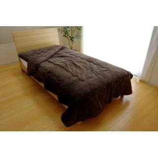 17 フランIT2枚合わせ毛布(ダブルサイズ/180×200cm/ブラウン)