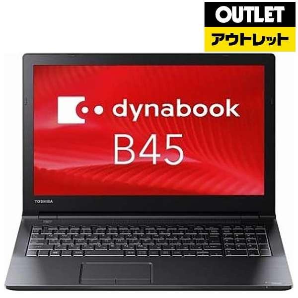 【アウトレット品】 PB45DNAD4RDPD81 ノートパソコン dynabook (ダイナブック) [15.6型 /intel Celeron /HDD:500GB /メモリ:4GB /2017年6月モデル] 【生産完了品】