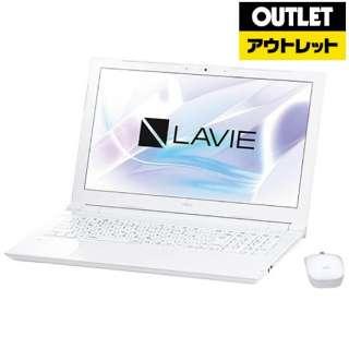 【アウトレット品】 15.6型ノートPC[Win10 Home・Celeron・HDD 500GB・メモリ 4GB・Office Home & Business] LAVIE Smart NS PC-SN18CJSAB2 【生産完了品】
