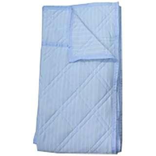 【涼感ケット】冷感キルトケット シングルサイズ(140×190cm/ブルー)