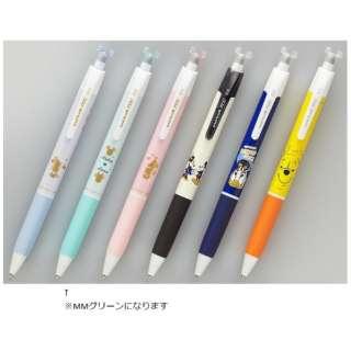 [ゲルインクボールペン] 限定 ユニボール R:E ディズニー(0.5mm /オフブラック) URN-200D-05.MMG MMグリーン