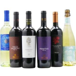 第3弾 イタリアワインセット (750ml/6本)【ワインセット】