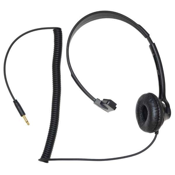 ガイドラジオFC-GR13受信機用オプション片耳ヘッドホン FHP-01 FHP-01