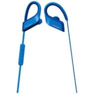 ブルートゥースイヤホン 耳かけカナル型 RP-BTS35 A ブルー [防滴&ネックバンド /Bluetooth]