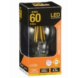 LDA6L C6 LEDフィラメント電球 クリア [E26 /電球色 /1個 /60W相当 /一般電球形 /全方向タイプ]