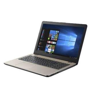 X542UN-8250GO ノートパソコン VivoBook アイシクルゴールド [15.6型 /intel Core i5 /HDD:1TB /SSD:128GB /メモリ:8GB /2018年3月モデル]
