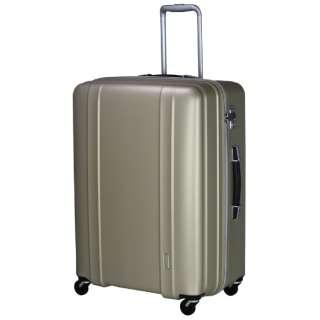 軽量スーツケース ハードジッパー 105L マットゴールド ZER2088-66 [TSAロック搭載]