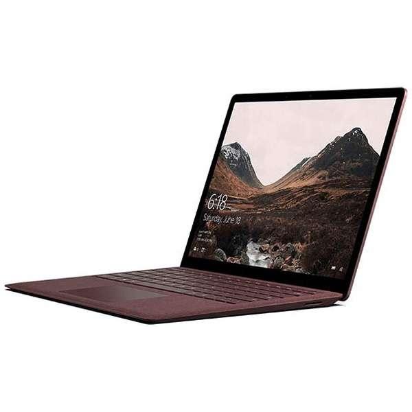 Surface Laptop[13.5型/SSD:256GB /メモリ:8GB /IntelCore i5/バーガンディ/2018年2月モデル]DAG-00108 ノートパソコン サーフェス ラップトップ
