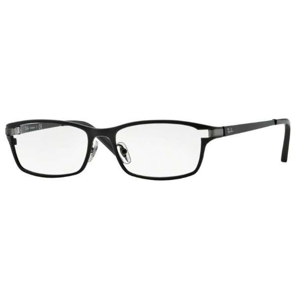 【度付き】RayBan メガネセット(マットブラック)RX8727D 1074 54mm[超薄型/屈折率1.67/非球面]