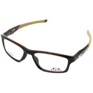 【度付き】OAKLEY メガネセット CROSSLINK MNP(ポリッシュドルートビア)OX8090-0455[超薄型/屈折率1.67/非球面]