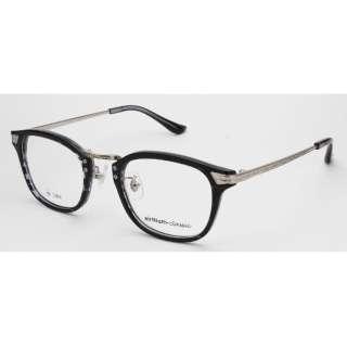 【度付き】airNium-classic メガネセット(クリアグレーササ)ac812-3[超薄型/屈折率1.67/非球面]