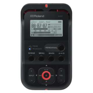 R-07 ICレコーダー ブラック [Bluetooth対応 /ハイレゾ対応]