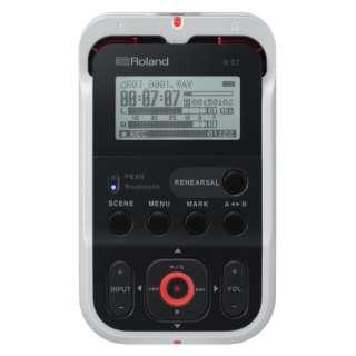 R-07 ICレコーダー ホワイト [Bluetooth対応 /ハイレゾ対応]